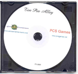 Picture of the Ten Pin Alley CD